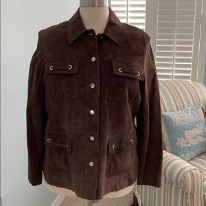 Style & Co Suede Jacket 20w